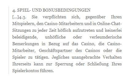 Casino Club Gesperrt